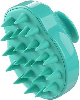 FJ Shampoo Brush   Hair Scalp Massager, Soft Silicone Body Massage Brush Scalp Care Brush [Wet & Dry] Perfect for Men, Wom...