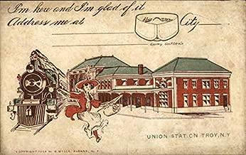 union station troy ny