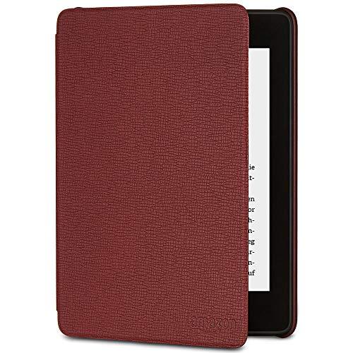 Amazon Kindle Paperwhite-Lederhülle, kompatibel mit der 10. Generation (2018), Bordeaux