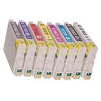 エプソン(EPSON)対応 互換インク IC33(IC-33)系 全8色セット プリンターインク インクカートリッジ
