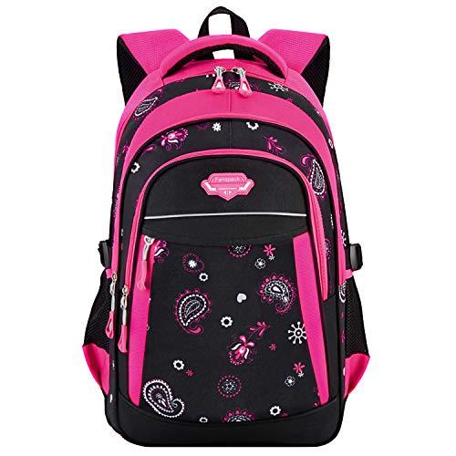 Rucksack Mädchen, Fanspack Schulrucksack Mädchen Teenager 2019 Schulranzen Mädchen Daypack Schultasche für Teenager Jugendliche