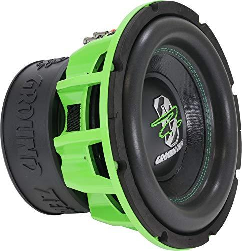 Ground Zero GZHW 25SPL Green Edition   25 cm SPL Subwoofer