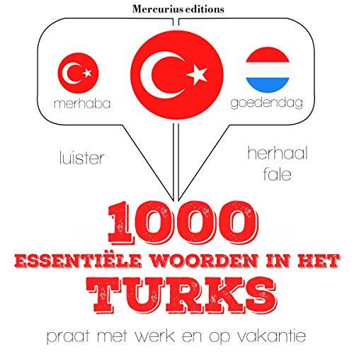 1000 essentiële woorden in het Turks audiobook cover art