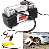 PetHot Tyre Inflator Air Compressor Heavy Duty 12V Electric Car Air Compressor Pump 150psi Also Applies To...