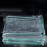 GLJ Lona Transparente de PVC for Cubierta de Piscina de toldo for embarcaciones de Bote 500G / M2 con Lona Impermeable Impermeable Perforada Lona alquitranada (Size : 1.8×3.5m)
