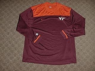 J.T. Thompson Virginia Tech Hokies Mens Basketball Game Worn Shooting Shirt