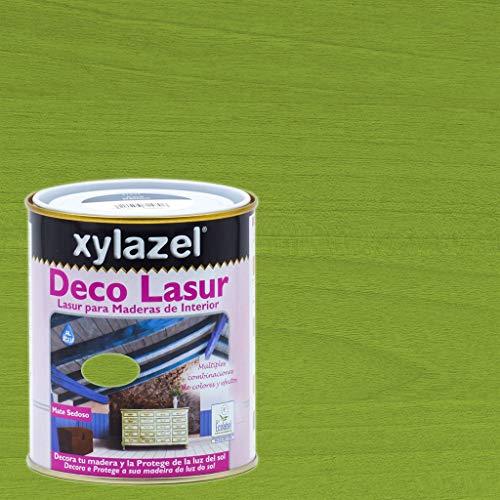Xylazel - Protección madera deco lasur 750ml baltico verde