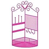 3C4G Corner Storage & Jewelry Holder - Hot Pink