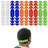 Ear Strap Extender for Masks with 3 Slots to Fit All (Made in USA) Color Options (10 Pieces) (Multi)