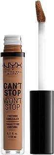 NYX Professional Makeup Can't Stop Won't Stop Contour Concealer, Mahogany 16, CSWSC16