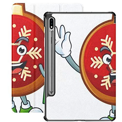 Funda para Galaxy Tab S7 Funda Delgada y Liviana con Soporte para Tableta Samsung Galaxy Tab S7 de 11 Pulgadas Sm-t870 Sm-t875 Sm-t878 2020 Lanzamiento, Alegre Personaje de Dibujos Animados de Bola r