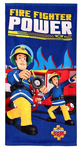 Feuerwehrmann Sam Strandtuch Badetuch 70 x 140cm