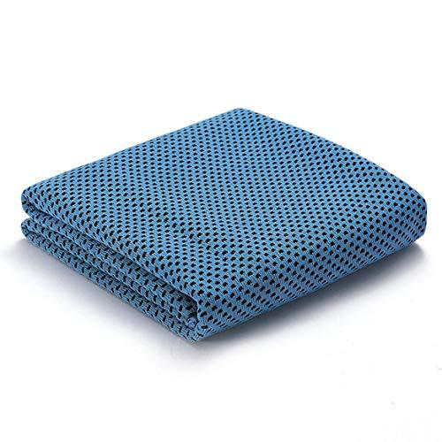 Kongqiabona-UK Serviette de Refroidissement Serviette de Glace Serviette en Microfibre Yoga Sports Fitness Exercice Camping Fitness Running Soft Respirant Serviette Froide