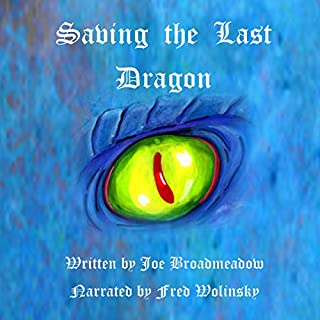 Saving the Last Dragon audiobook cover art