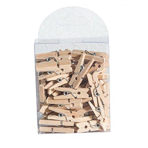 Chaks 0610 - Boite de 50 Mini-pinces à linge