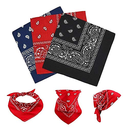 70% off 12 PCS Bandanas Use promo code: 70V12MIQ There is no quantity limit