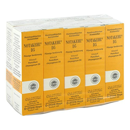NOTAKEHL D 5 Tropfen 10X10 ml