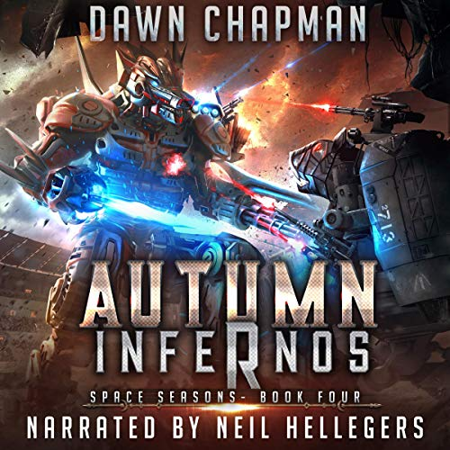 Autumn Infernos: A LitRPG Sci-Fi Adventure Titelbild