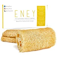 3 Pack Eney 100% Plant-Based Biodegradable Non-Odor Kitchen Sponges