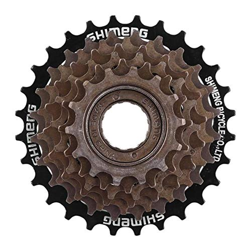 LnNyRf Tema MTB Bicicleta 7/8 Velocidad del Cassette de montaña Bicicleta de Carretera Rueda Dentada del piñón del Ventilador de Metal piñón Piezas Accesorios for Bicicletas (Color : 8 Level)