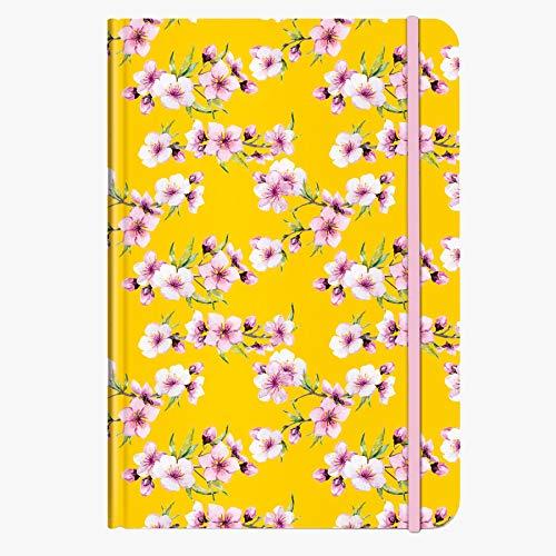 Notizbuch Blüten gelb DIN A5 | CEDON