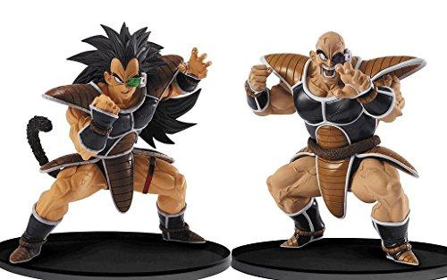 Esculturas GRANDE modelado Tenkaichi Budokai 5 co - ? ? tres (napa) ? ? cuatro (Raditz) Juego de Dragon Ball de 2 cifras