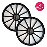 Crucial Vacuum Air Filter Replacement - Compatible with Bissell Part # 48G7, 2031473 203-1473 and Bissell Style 18 HEPA Style Filter Fits Healthy Home 16N5 Bagless Uprights - Washable (2 Pack)