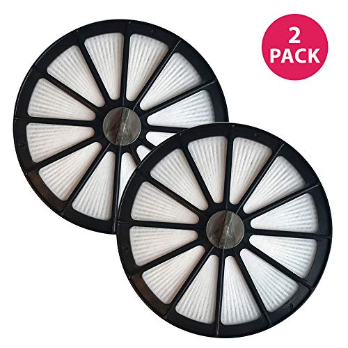 Crucial Vacuum Air Filter Replacement - Compatible with Bissell Part # 48G7, 2031473 203-1473 and Bissell Style 18 HEPA Style Filter Fits Healthy Home 16N5 Bagless Uprights - Washable (2 Pack) Bissell Healthy Home Vacuum