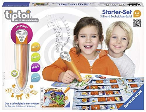 Ravensburger 00505 - Tiptoi Starter-Set mit Stift und Spiel Schatzsuche in der Buchstabenburg