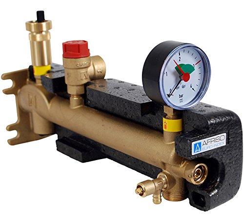 Afriso calefacción cubremacetero anfetas tipo de conexión de grupo