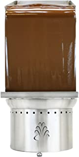 Buffet Enhancements Stainless Steel Chocolate Fountain Wall fits 35 and 40 Inch Fountains