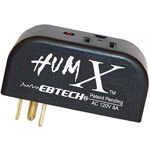 Ebtech Hum X Ground Line Voltage Filter,Black