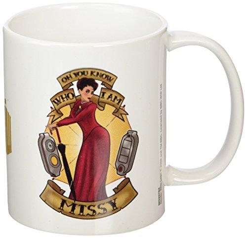 Doctor Who MG23784 (Missy Tattoo) Mug, Céramique, Multicolore, 11oz/315ml