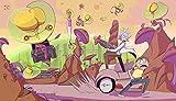 CHANGJIU- Rompecabezas De 1000 Piezas - Póster Pelea De Rick Y Morty - Puzzle Difícil Y Desafiante, Juegos Educativos Divertidos para Adultos Y Niños,75X50 Cm
