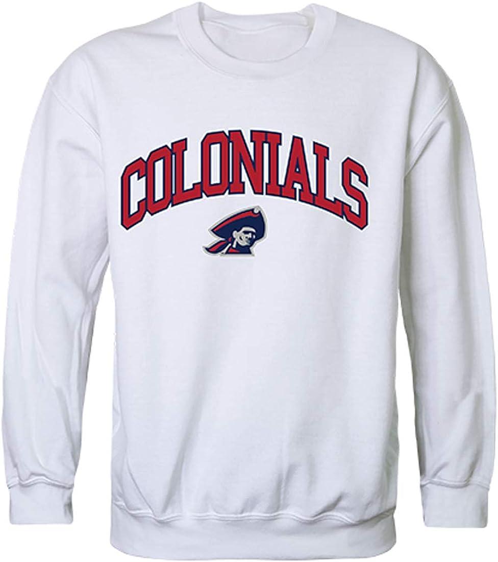 Robert New York Mall Morris Colonials Max 62% OFF NCAA Men's Campus Fleece Crewneck Sweats