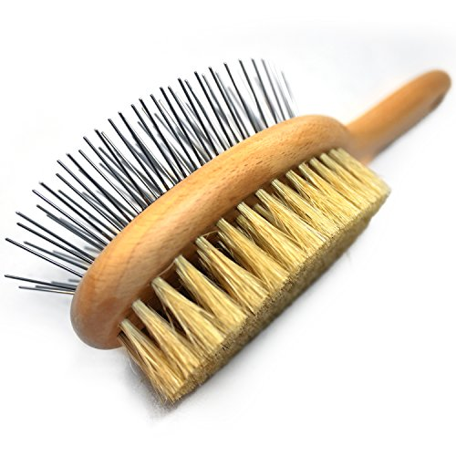 Paws Pamper Boar Bristle & Pin Brush