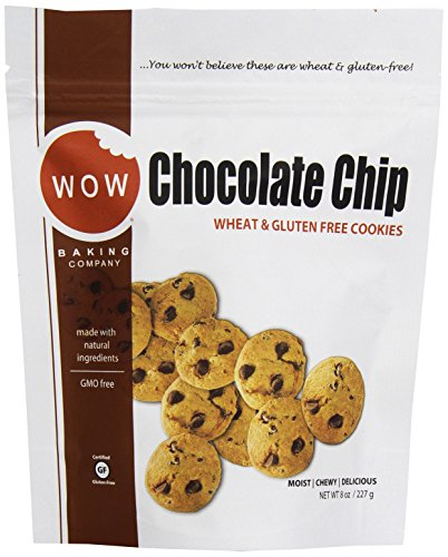 Wow Baking Gluten Free Chocolate Chip Cookie, 8 oz
