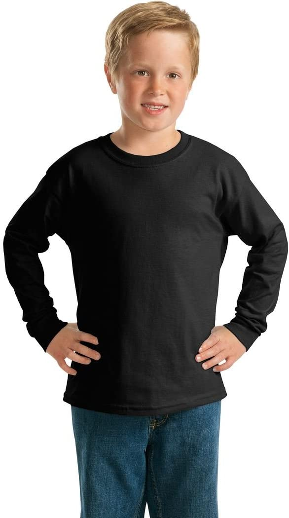 Gildan Youth Ultra Cotton Long Sleeve T-Shirt 20F
