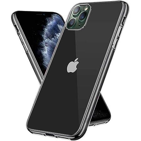 【Amazon限定ブランド】iPhone 11 Pro ケース クリアケース - スマホケース iPhone11Pro ケース 「ストラップホール/耐衝撃/擦り傷防止/滑り止め/一体型/人気/おしゃれ」 アイフォン11 プロ 2019新型 5.8インチ Arae (クリア)
