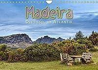 Madeira, die Insel im Atlantik (Wandkalender 2022 DIN A4 quer): Weite Landschaftsbilder von der Blumeninsel Madeira (Monatskalender, 14 Seiten )