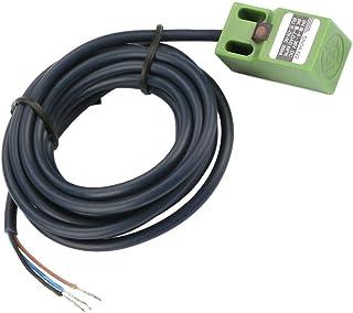 Sensor de proximidad inductivo, 4 mm de distancia 3 hilos NPN Normalmente abierto Sensor de