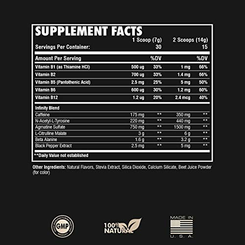 RARI Nutrition - Infinity Pre Workout Powder