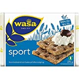 Wasa Deporte - Pan Crujiente De Centeno 275g (Paquete de 6)