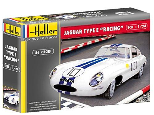 Heller - 80783 - Jaguar Type E Le Mans - 86 Pièces - Echelle 1/24