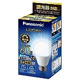 パナソニック LED電球 口金直径26mm 電球60形相当 昼光色相当(7.3W) 一般電球 広配光タイプ 調光器対応 密閉器具対応 LDA7DGDSK6