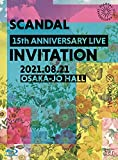 SCANDAL 15th ANNIVERSARY LIVE INVITATION at OSAKA-JO HALL 初回限定盤 Blu-ray + 2CD + 特製フォトブックレット W特典 初回限定盤予約キャンペーン特典  オリジナルマスクケース および 特典  オリジナルステッカー  絵柄B  付  初回限定盤予約キャンペーンの対象期間は 2021年9月1日 19 00   2021年10月4日 18 00 まで