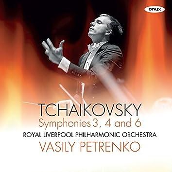 Tchaikovsky Symphony No.6 'Pathetique', Symphony No.4, Symphony No.3 'Polish'
