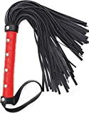 MALINERO Whip red Faux Leather Whip