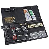 WYNEX Molle Visor Panel Organizer, Tactical Car Sun Visor Cover Molle Webbing Compatible Vehicle Visor Storage Holder Pouch