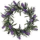 Deko-Kranz Lavendel